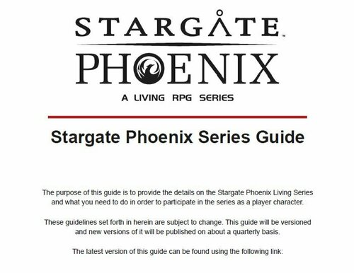 Stargate Phoenix Series Guide